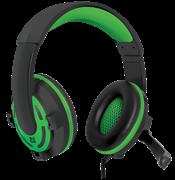 (177732)  Гарнитура Defender Warhead G-300 игровая, зеленая