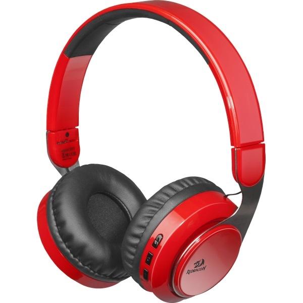 (219276) Гарнитура беспроводная Defender Redragon Sky R Bluetooth красная  (64211) - фото f3c5703dfcb86