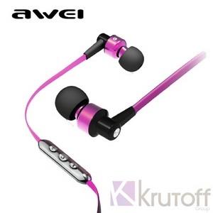 (1013484) Наушники Awei TE55Vi (purple) с микрофоном и регулятором  громкости - фото fd30f46bdcaa7