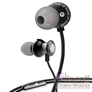(1013481) Наушники Awei ES980Hi (black) с микрофоном и регулятором  громкости - фото 217304337b1ae