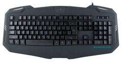 (1004394) Клавиатура Oklick 730G черный USB LED Покрытие soft-touch - фото 11974