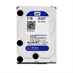 """(1006661) Жесткий диск WD Original SATA-III 2Tb WD20EZRZ Blue (5400rpm) 64Mb 3.5"""" - фото 12416"""