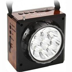 (1006825) Радиоприемник портативный Сигнал Vikend Fisher черный (FM, MP3, SD, USB, светодиодный фонарь, встроенный аккумулятор) - фото 12662