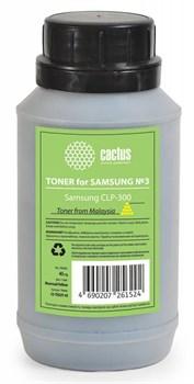 (1007003) Тонер Cactus CS-TSG3Y-45 желтый бутылка 1x0.045кг для принтера Samsung CLP-300 - фото 13102