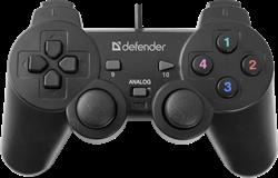 (175467)  Геймпад Defender Omega USB (64247) - фото 13162