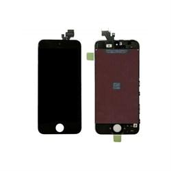 "(1006630) Матрица и тачскрин NT для смартфона Apple iPhone 5S, дисплей 4"" 640x1136, AAA. Черный цвет - фото 13249"
