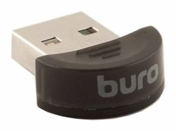 (1007163) Адаптер USB Buro BU-BT30 Bluetooth 3.0+EDR class 2 10м черный - фото 13355