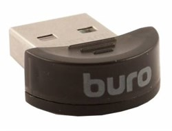 (1007164) Адаптер USB Buro BU-BT40B Bluetooth 4.0+EDR class 1.5 20м черный - фото 13356