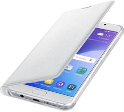 (1007704) Чехол (флип-кейс) Samsung для Samsung Galaxy A5 (2016) Flip Wallet белый (EF-WA510PWEGRU) - фото 14369