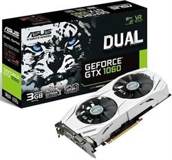 (1008292) Видеокарта Asus PCI-E DUAL-GTX1060-3G NV GTX 1060 3072Mb 192b GDDR5 1506/ 8008 DVIx1/ HDMIx2/ DPx2/ HDCP - фото 15501