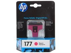 (36986) Картридж струйный HP №177 пурпурный для принтеров HP Phs8253/ 3213/ 3313 - фото 16521