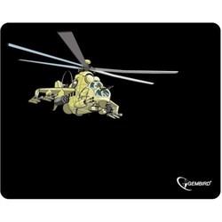 """(1009122) Коврик для мыши, Gembird MP-GAME9, рисунок- """"вертолет"""", размеры 250*200*3мм - фото 17102"""