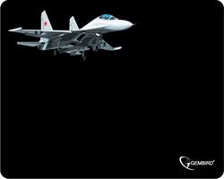 """(1009120) Коврик для мыши, Gembird MP-GAME5 рисунок- """"самолет-2"""", размеры 250*200*3мм - фото 17104"""