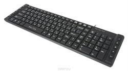 (1009603) Клавиатура Oklick 530S черный USB slim Multimedia - фото 17727