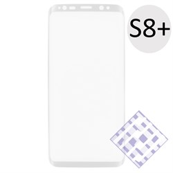 (1010079) Стекло защитное 3D Krutoff Group для Samsung Galaxy S8+ white - фото 18426