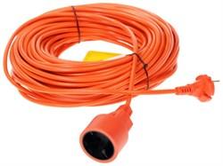 (1010527) PowerCube Удлинитель в бухте (PC-E1-B-30) 6А, 1 розетка, 30 м. 2*0,75мм2, оранжевый - фото 18924