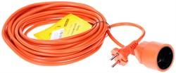 "(1011558) Удлинитель в бухте ""PowerCube"" 10А/2,2 кВт, 1 розетка, 10м, оранжевый - фото 19895"