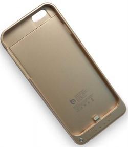 (1011977) Чехол аккумулятор BQ-B006 Battery Case для iPhone 6 (золотой) - фото 20418