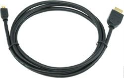 (1012008) Кабель HDMI-microHDMI v1.3, 1.8м, Cablexpert CC-HDMID-6, 19M/19M, черный, позол.разъемы, экран, пакет - фото 20517