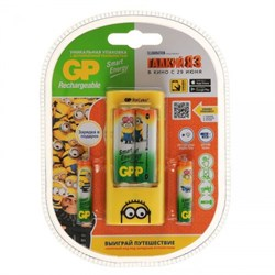 (1012127) Аккумулятор + зарядное устройство GP Smart Energy U211100/40SEFR AA/AAA NiMH (4шт) - фото 20656