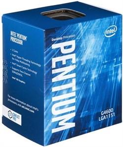 (1009074) Процессор Intel Original Pentium Dual-Core G4600 Soc-1151 Kaby Lake (BX80677G4600 S R35F) (3.6GHz/HDG630) Box