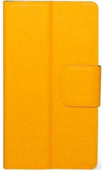 """(1012502) Универсальный чехол-флип Smarterra SlideUP Frame Размер D: 4,9""""-5,2"""" (Желтый ) - фото 20968"""