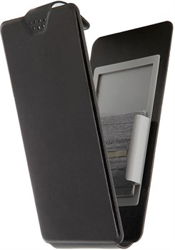 """(1012461) Универсальный чехол-книжка Smarterra SlideUP Frame Размер C: 4,5""""-4,8"""" (Серый) - фото 21009"""