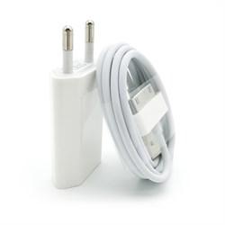 (1012388) СЗУ + USB кабель для iPhone 4/4S - фото 21088