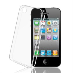 (1012793) Накладка TPU для iPhone 4/4S прозрачная - фото 21413