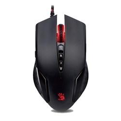 (1012921) Мышь A4 Bloody V5M черный оптическая (3200dpi) USB игровая (8but) - фото 21560