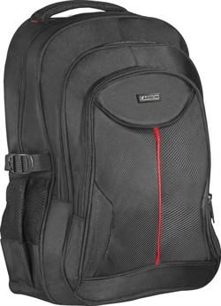 """(1013596) Рюкзак для ноутбука Defender Carbon 15.6"""" черный, органайзер - фото 22298"""