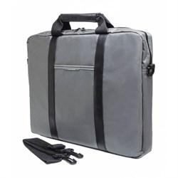 """(1013744) Сумка для ноутбука 15.6"""" PC Pet PCP-1003GR серый/черный нейлон - фото 22685"""