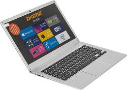 "(1013962) Ноутбук Digma CITI E301 ES3008EW Atom X5 Z8350, 4Gb, SSD32Gb, Intel HD Graphics 400, 13.3"", IPS, HD (1920x1080), Windows 10 Home Multi Language 64, silver, WiFi, BT, Cam, 8000mAh - фото 22787"