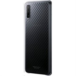 (1014212) Чехол (клип-кейс) Samsung для Samsung Galaxy A7 (2018) Gradation Cover черный (EF-AA750CBEGRU) - фото 23123