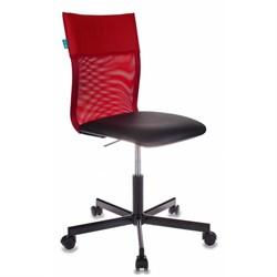 (1014494) Кресло Бюрократ CH-1399/R+B спинка сетка красный сиденье черный искусственная кожа крестовина металл - фото 25084