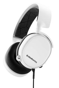 (1014826) Наушники с микрофоном Steelseries Arctis 3 2019 Edition белый 3м мониторы (61506) - фото 25341