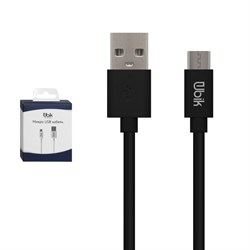(1016015) USB кабель micro Ubik UM04 black  1 м - фото 27725