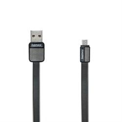 (1016013) USB кабель micro REMAX Platinum RC-044m (1m) black - фото 27727