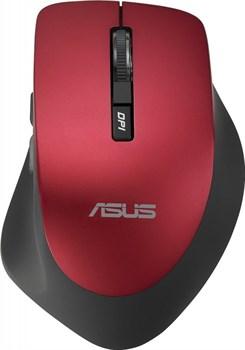 (1016212) Мышь Asus WT425 красный оптическая (1600dpi) беспроводная USB2.0 для ноутбука (5but) - фото 29082