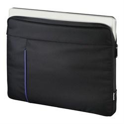 """(1018920) Чехол для ноутбука 15.6"""" Hama Cape Town черный/синий полиэстер (00101906) - фото 30323"""