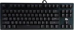 (1018057) Клавиатура механическая Gembird KB-G540L, USB, черн, переключатели Outemu Blue, 87 клавиши, подсветка Rainbow 9 режимов, FN, кабель тканевый 1.8м - фото 31546