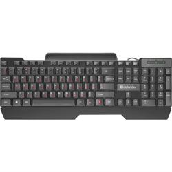 (1021518) Проводная клавиатура Search HB-790 RU,черный,полноразмерная DEFENDER - фото 32000