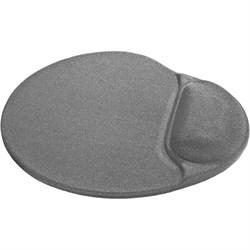(1021517) Коврик для компьютерной мыши Defender Easy Work серый, лайкра, 260х225х5 мм - фото 32001
