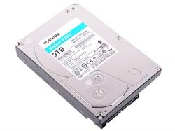 "(1021603) Жесткий диск Toshiba SATA-III 3Tb HDWU130UZSVA Video Streaming V300 (5940rpm) 64Mb 3.5"" - фото 32099"