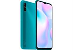"(1021636) Смартфон Xiaomi Redmi 9A Peacock Green (M2006C3LG), 6.53"" 20:9 1600 x 720, 2.0GHz, 8 Core, 2GB RAM, 32GB, 13Mpix/5Mpix, 2 Sim, 2G, 3G, LTE, BT v5.0, WiFi 802.11 b/g/n, GPS / AGPS, GLONASS, Beidou, Micro-USB, 5000 mAh, 164,9 ммx77,07 ммx9 мм - фото 32110"
