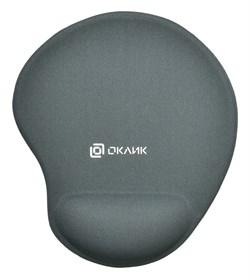 (1022347) Коврик для мыши Oklick OK-RG0550-GR серый 220x195x20мм - фото 32613