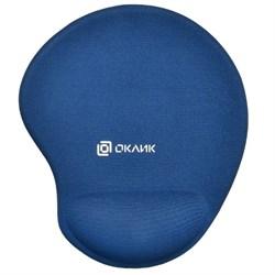 (1022346) Коврик для мыши Oklick OK-RG0550-BL темно-синий 220x195x20мм - фото 32614