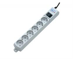 (1023522) Сетевой фильтр Pilot GL 3м (6 розеток) белый (коробка) - фото 33038