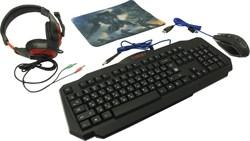 (1023888) Игровой набор Target MKP-350 мышь+клавиатура+гарнитура+ков. DEFENDER - фото 33336