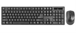 (1023884) Набор клавиатура и мышь Defender#1 беспроводные черные (2.4 ГГЦ, USB, 1 х AA + 2 х AA, 1200 dpi, C-915 RU) - фото 33339